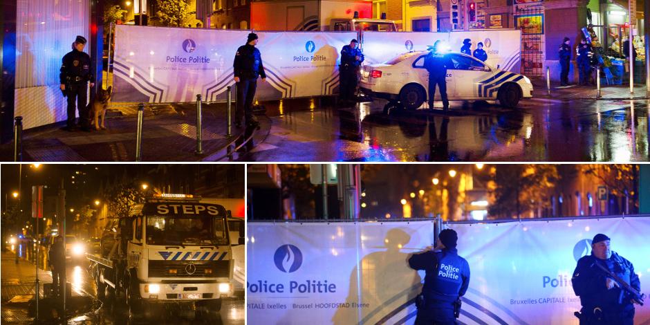 Trois personnes arrêtées à Molenbeek, les deux voitures retrouvées immatriculées en Belgique