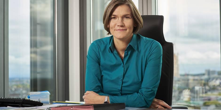 Christiane Benner, une dame parmi les gros bras