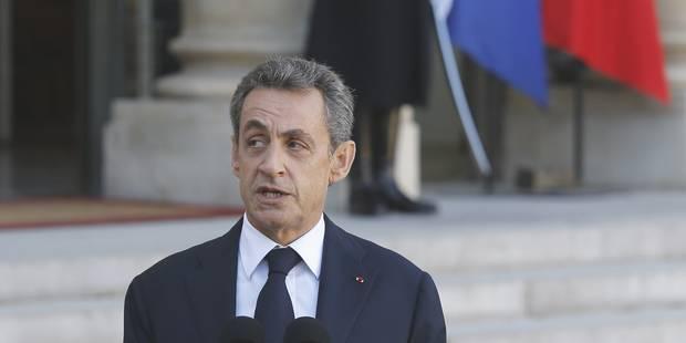"""Sarkozy: les personnes fichées comme radicalisées doivent être """"mises en résidence surveillée"""" - La Libre"""