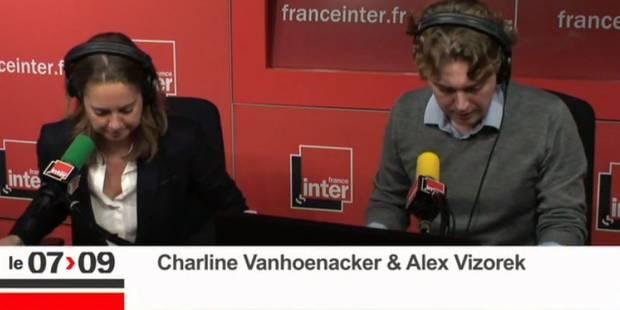 """Alex Vizorek et Charline Vanhoenacker présentent les """"excuses"""" de la Belgique sur France Inter - La Libre"""