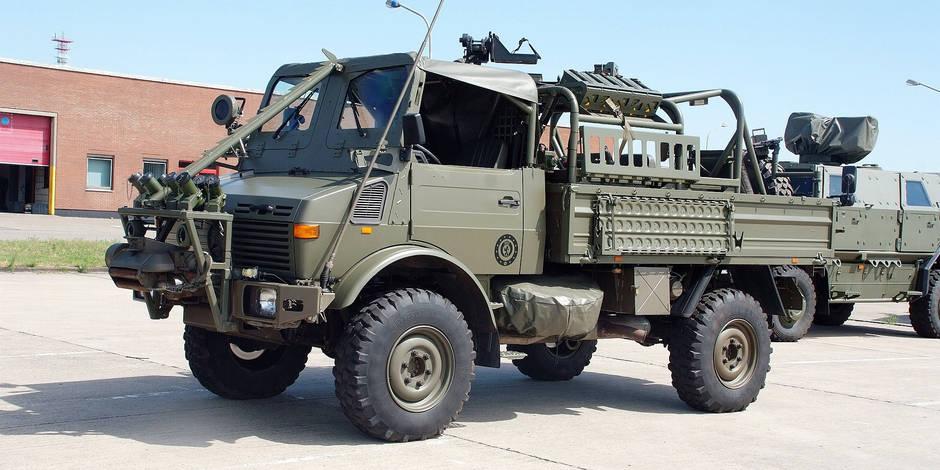 En 2016, l'armée confiera au privé l'entretien de ses véhicules - La Libre