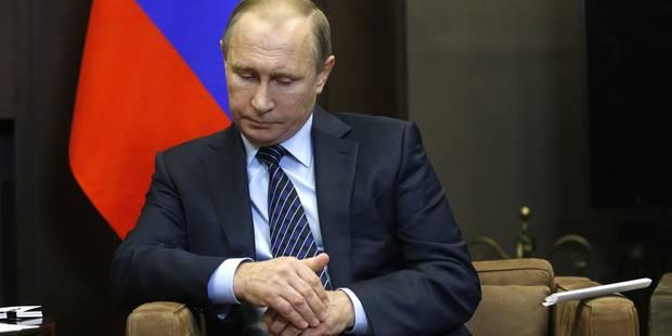 Vladimir Poutine recommande aux Russes de ne plus se rendre en Turquie - La Libre
