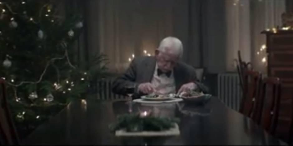 La pub contre la solitude des seniors à Noël, émotion garantie