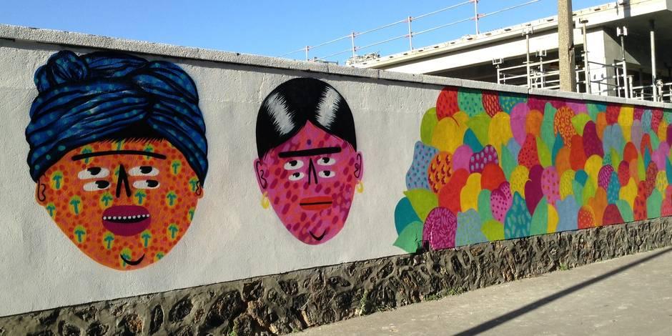 400 mètres de street art pour rendre hommage à Rosa Parks