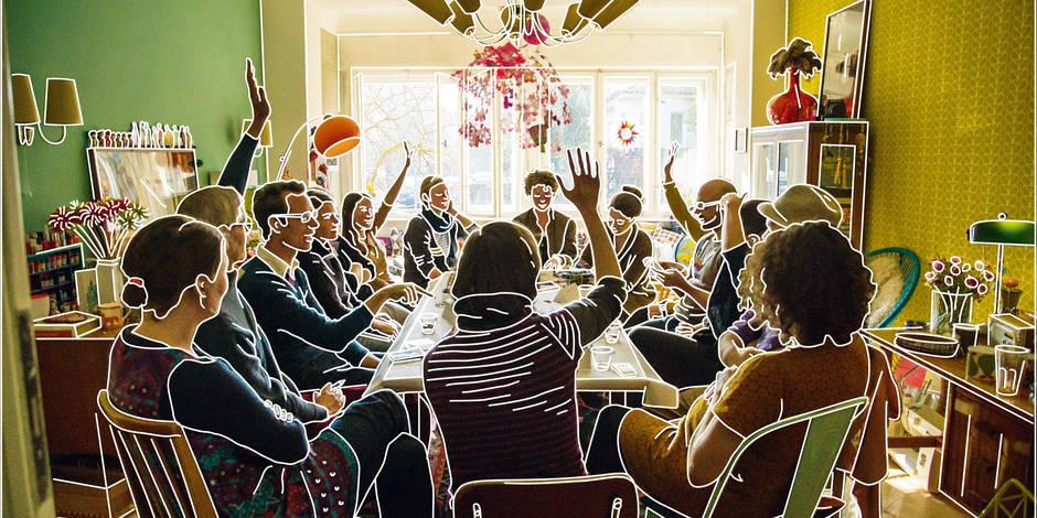 Artistes à domicile - La Libre