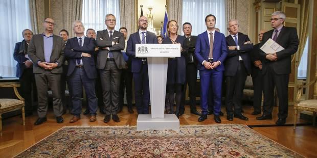 Groupe des 10: Accord trouvé sur la remise au travail des malades et la limitation du chômage temporaire - La Libre