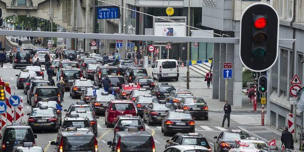 10 minutes de plus pour entrer dans Bruxelles en 2030 ! - La Libre