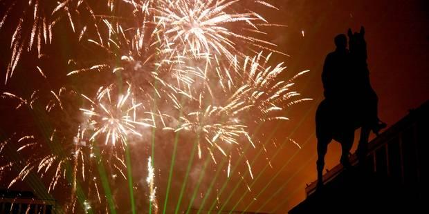 Si le niveau de menace reste à 3, le feu d'artifice de Nouvel an à Bruxelles aura bien lieu - La Libre