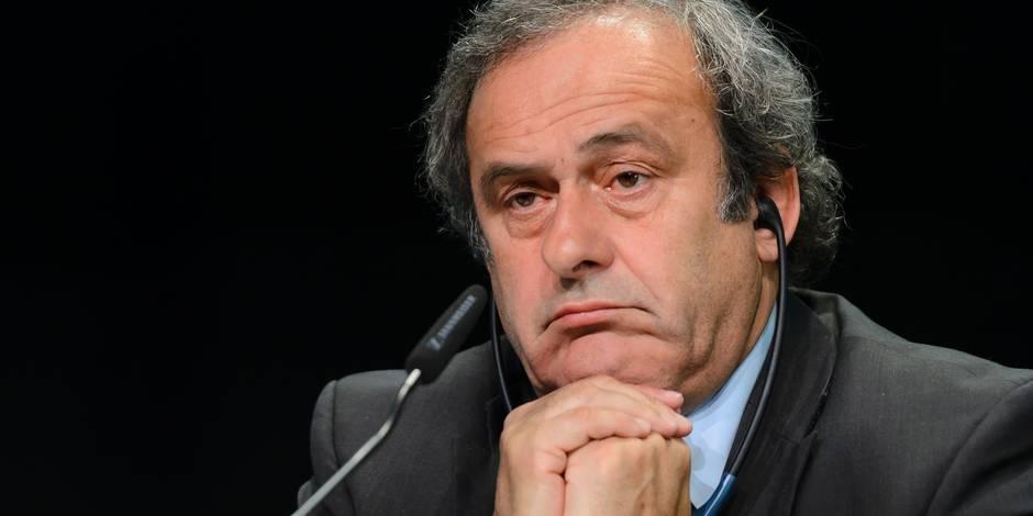 """Platini: """"Je suis déjà jugé, déjà condamné"""""""