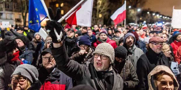 Vent de colère à Varsovie - La Libre