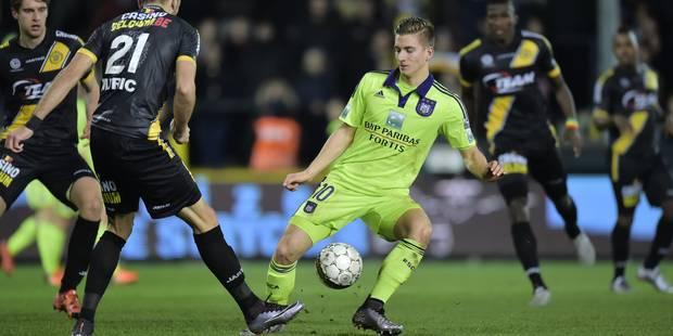 Anderlecht arrache un nul pas vraiment mérité Lokeren (1-1) - La Libre