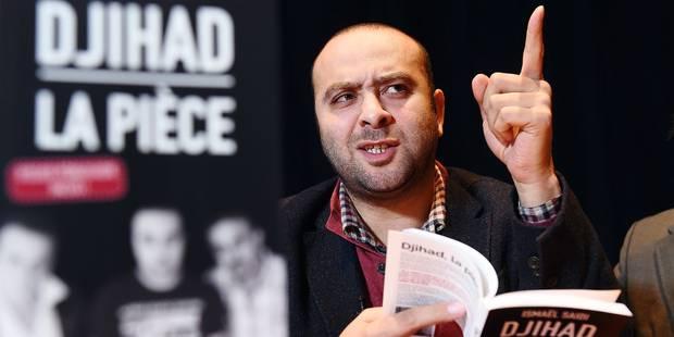"""Ismaël Saidi, auteur de la pièce """"Djihad"""": """"Le Coran n'oblige pas à porter le voile"""" - La Libre"""
