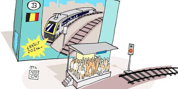 Grève du rail : et l'usager dans tout ça ? - La Libre