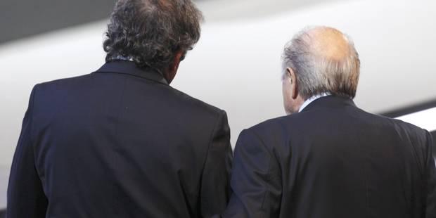 Une suspension plus lourde pour Platini et Blatter? - La Libre
