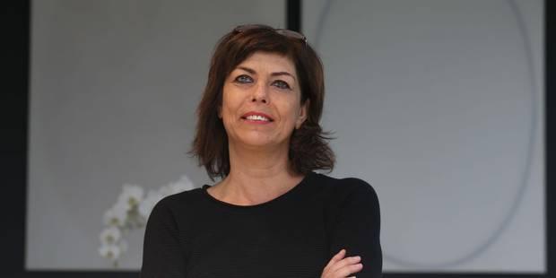 """Joëlle Milquet perd son sang froid sur le tournage d'""""Au tableau"""", nouvelle émission de la RTBF - La Libre"""