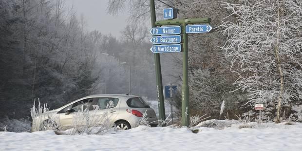 Prudence sur la route: risque de verglas - La Libre