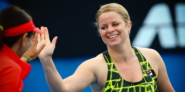 Open d'Australie: Kim Clijsters gagne mardi dans le double des Légendes - La Libre