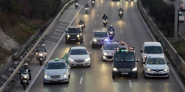 Grèves en France: plusieurs secteurs touchés, incidents avec les taxis - La Libre