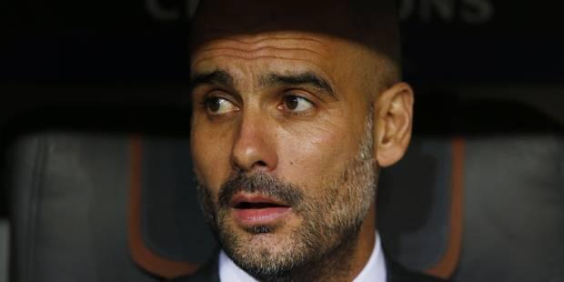 Pep Guardiola à Manchester City cet été - La Libre