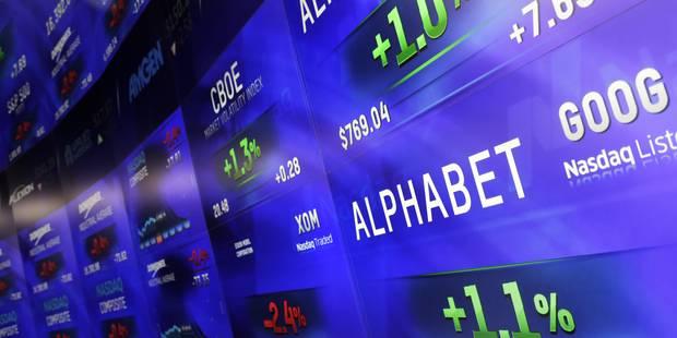 Alphabet (Google) dépasse Apple et devient la première capitalisation boursière mondiale - La Libre