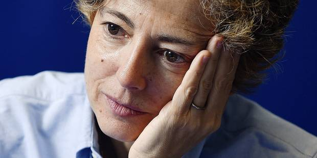 Italian architect Paola Vigano pictured during a press conference ahead of a ceremony for the Doctors Honoris Causa honorary degrees at the UCL university, in Louvain-la-Neuve, Tuesday 02 February 2016. BELGA PHOTO JOHN THYS