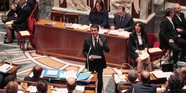 Les députés français votent l'inscription de la déchéance de nationalité dans la Constitution - La Libre