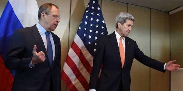 """Syrie: Moscou a fait une offre """"concrète"""" de cessez-le-feu, attend la réponse américaine - La Libre"""