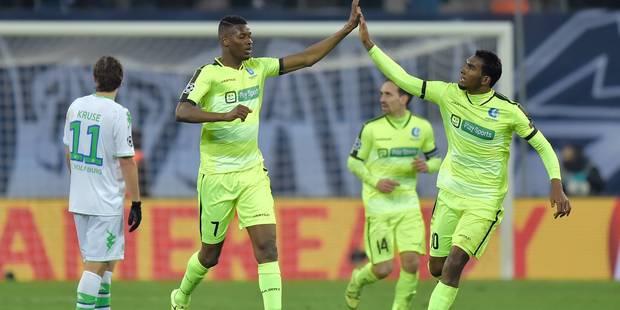 La Gantoise se réveille trop tard face à Wolfsburg (2-3) - La Libre