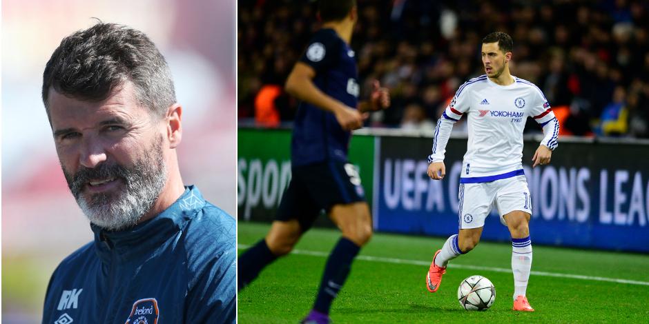 """Roy Keane: """"Hazard ? Si j'étais son équipier, je lui en ferais voir à l'entraînement !"""""""