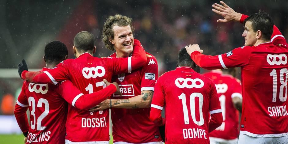 Le Standard bat Charleroi et se replace pour les PO1 (3-0)