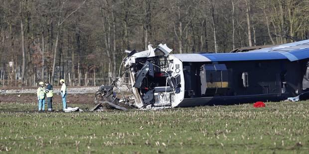 Collision entre un train et une grue élévatrice aux Pays-Bas: un mort (PHOTOS) - La Libre