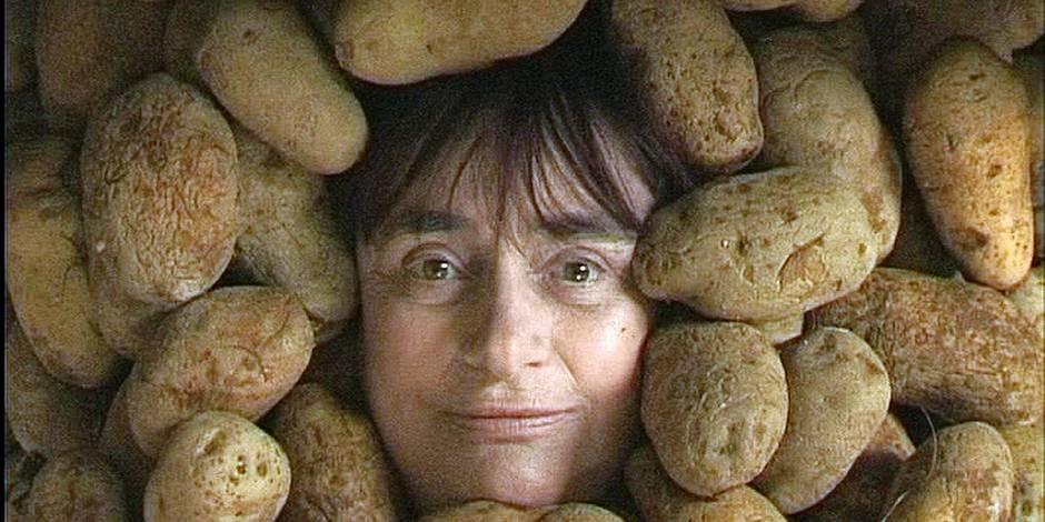 Agnès Varda garde la patate, elle expose au musée d'Ixelles