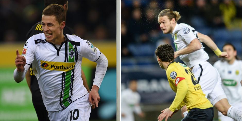 Belges à l'étranger: Thorgan Hazard ouvre son compteur, Guillaume Gillet buteur malheureux (VIDEOS)