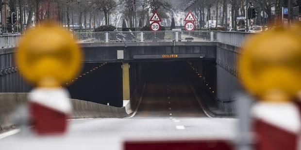 La dalle du tunnel Montgomery retirée avant l'été - La Libre