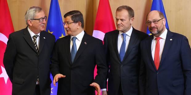 Crise des migrants: la Turquie veut trois milliards d'euros en plus d'ici 2018 - La Libre