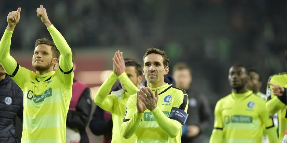 Gand éliminé de la Ligue des Champions après une défaite à Wolfsburg (1-0)