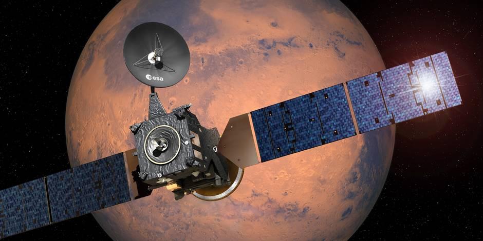Faut-il plutôt envoyer des hommes ou des robots sur Mars?