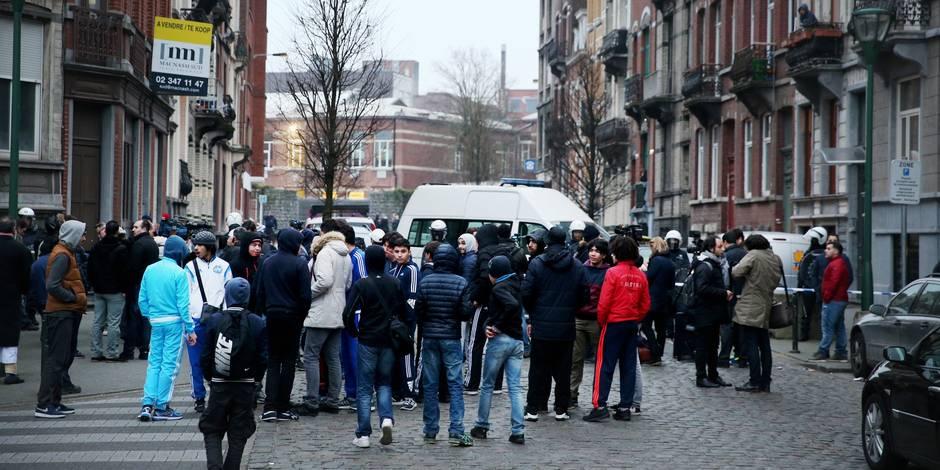 La tension est montée dans le quartier où Salah Abdeslam a été arrêté