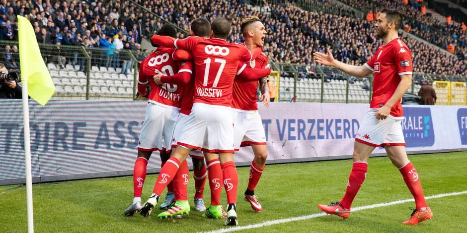 Le Standard s'offre la Coupe de Belgique face à Bruges et sauve sa saison (1-2)