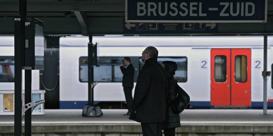Des trains circulaient encore sur l'axe nord-midi à Bruxelles après 10h le jour des attentats