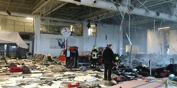 Brussels Airport: le hall des départs fermé 9 mois au minimum - La Libre