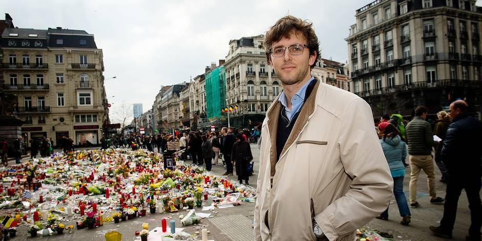 Bruxelles - Ambiance pot attentats: les bruxellois se relèvent