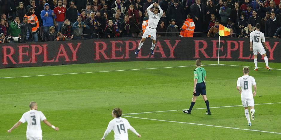 Ronaldo et le Real remportent le Clasico et gâchent l'hommage à Cruyff (VIDEOS)