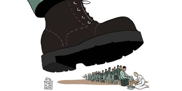 Lavons les pieds des migrants - La Libre