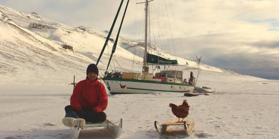4 mois seul avec une poule dans les glaces du Groenland : l'impressionnante aventure de Guirec