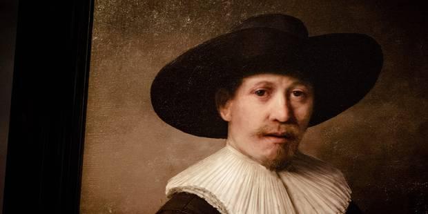 Arts numériques: un portrait-robot nommé Rembrandt (VIDEO) - La Libre