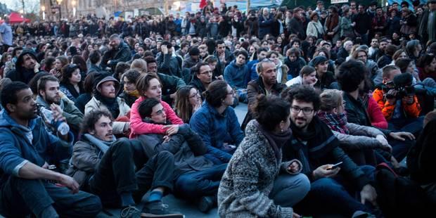 """""""Nuit debout"""": la police évacue les manifestants à Paris - La Libre"""