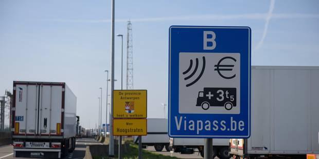 Taxe kilométrique: les petits transporteurs wallons se structurent et déposent leurs revendications - La Libre