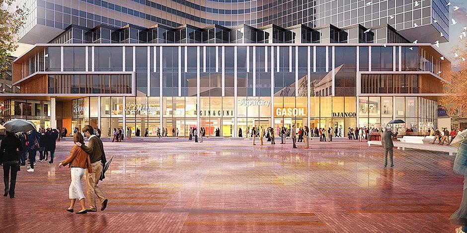 Bruxelles-Ville: un nouveau centre commercial sur le piétonnier