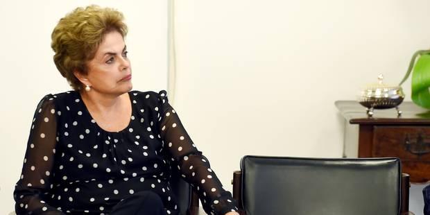 Brésil: Rousseff saisit la justice pour tenter de sauver son mandat - La Libre